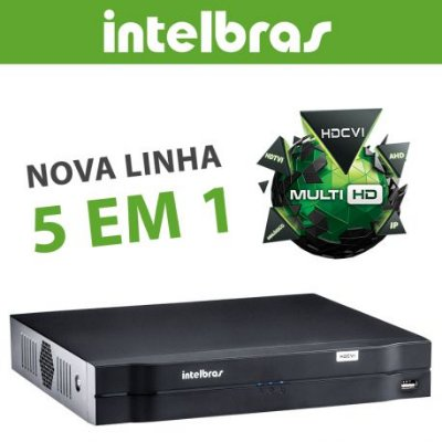 DVR Intelbras 16 Canais Multi HD Alta Resolução MHDX 1016
