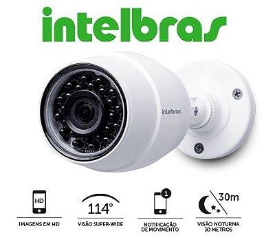 Câmera Intelbras Bullet Sem Fio IP Mibo IC5 Alta Definição (1.0MP | 720p | 2.8mm | Metal)