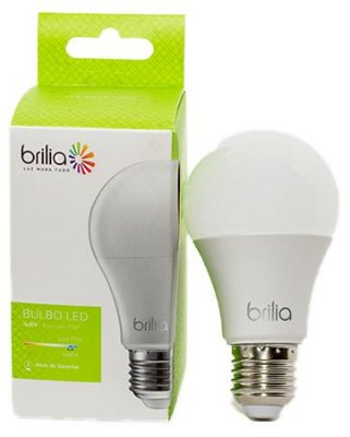 Lâmpada de Led Smart Bulbo Brilia A55 - 7w