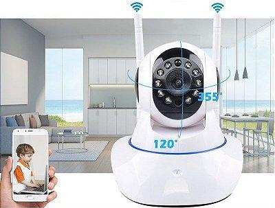 Câmera Robozinho IP Sem Fio Wireless HD - Alta Definição