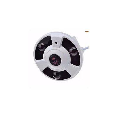 Câmera Jortan Panorâmica AHD Alta Definição (1.3MP | 960p | 360º | Plast)