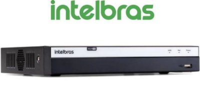 DVR Intelbras 08 Canais Multi HD Full HD MHDX 3108