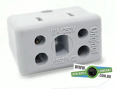 Adaptdor para Tomada 10A + 20A  (Bob Esponja)