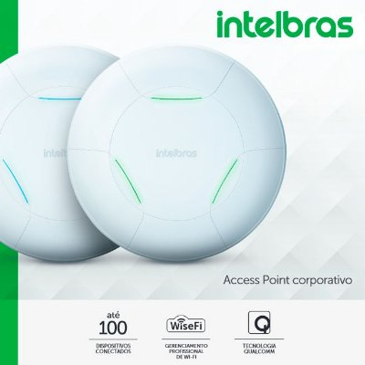 Roteador Access Point de teto Intelbras - AP 310