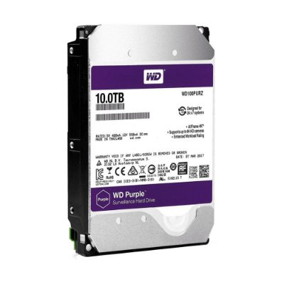 HD Sata Western Digital (WD) Purple 10TB