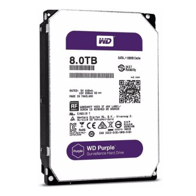 HD Sata Western Digital (WD) Purple 8TB