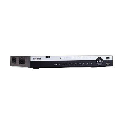 DVR Stand Alone 16 Canais Intelbras MHDX 5116 4K 8MP HDCVI, HDTVI, AHD, CVBS, IP