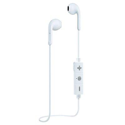 Fone de ouvido i2GO Urban Go Bluetooth com Microfone 30cm Branco com Cinza