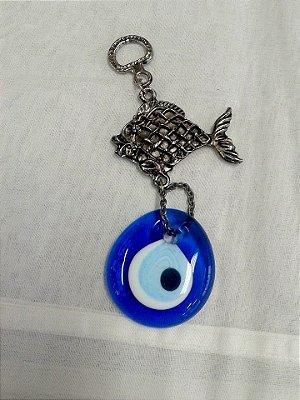 Olho Azul com Peixe