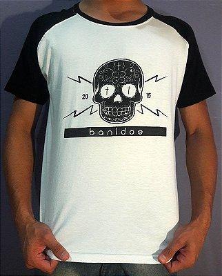 Camiseta Banidos Skull