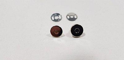 Botão Magnético Pequeno. 10mm x 2mm  -  04 botões/emb.