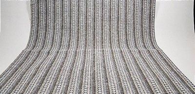 Rough Brown Lines. Tecido em Algodão Estruturado (50x140cm)