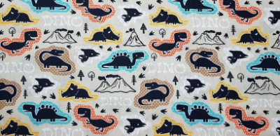 Dino.Tecido Digital. TD025 - 50cm x 70cm