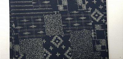 Traditional Blue. Tec.Tradicional Japonês.TI043 (50x55cm)