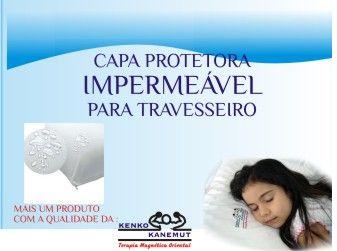 Capa Impermeável para travesseiro