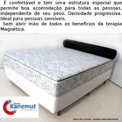 Kanemut Flexível com Pillow Top