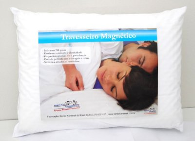 Travesseiro Magnético com Manta Tratada