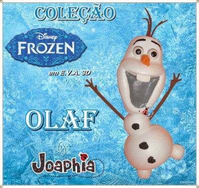 CURSO VIRTUAL OLAF EM E.V.A. 3D