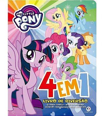 Livro 4 em 1 My Little Pony