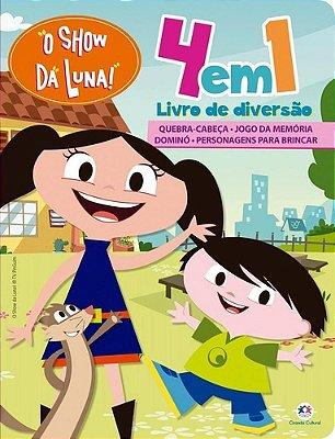 Livro 4 em 1 Show da Luna