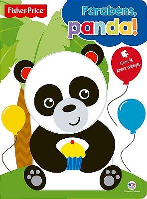 Livro Parabéns Panda