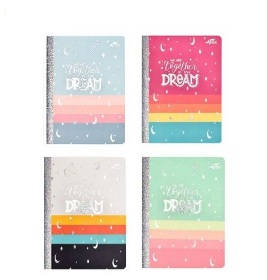 Caderno Brochura Pautado Dream