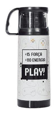 Garrafinha Térmica com Caneca 350ml Play