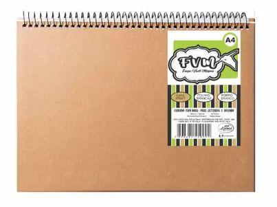 Caderno Álbum Kraft Faço Você Mesmo