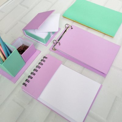 Kit Organizador de Mesa 5 Peças