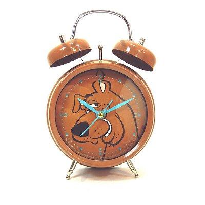 Relógio Despertador Scooby Doo