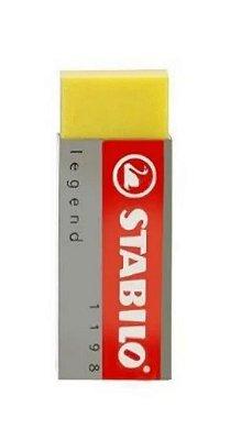 Borracha Stabilo Legend Amarelo
