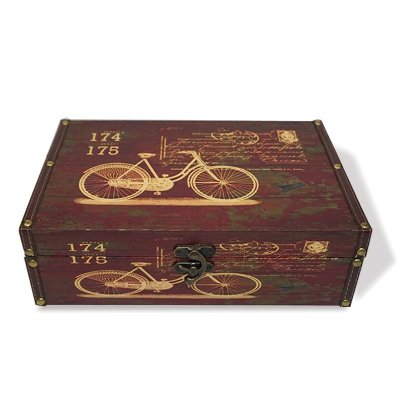 Caixa Decorativa Bicicletas Grande