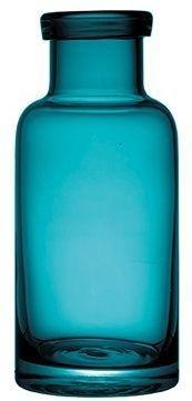Vaso de Vidro Azul Turquesa - Grande