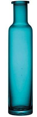Vaso de Vidro Azul Turquesa - Alto