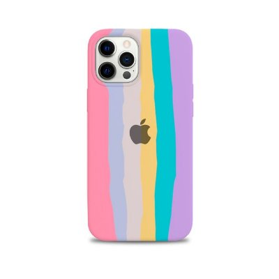 Capinha iPhone Listras Pastel