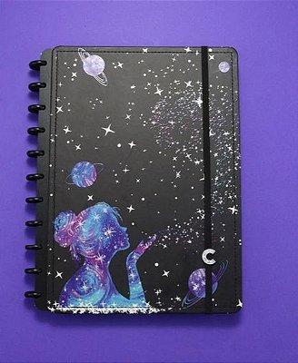 Caderno Inteligente Poeira nas Estrelas A5