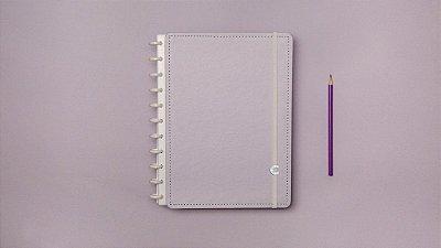 Caderno Inteligente Lilás Pastel Grande