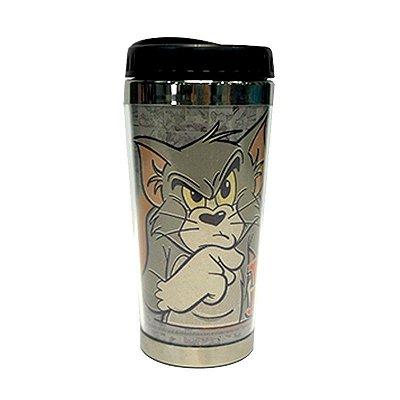 Copo Térmico Tom & Jerry Cinza