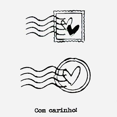 Carimbo Mini Selos 2