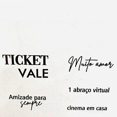 Carimbo Friends Ticket