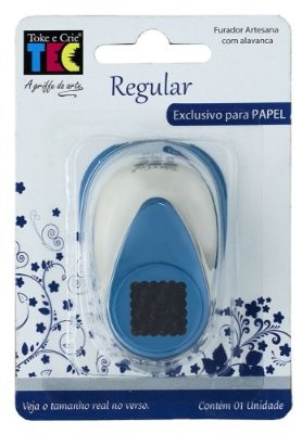 Furador Regular Escalope Quadrado - (Papel)