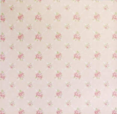 Folha de Scrapbook - Rosas