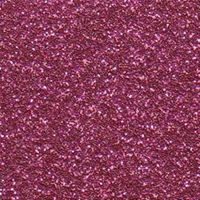 Folha de Scrapbook Puro Glitter - Rosa