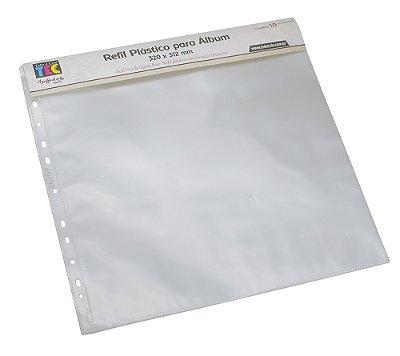 Refil Plástico Para Álbum 320 x 312mm