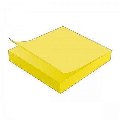 Post it - Bloco Adesivo Neon Amarelo 76x76mm