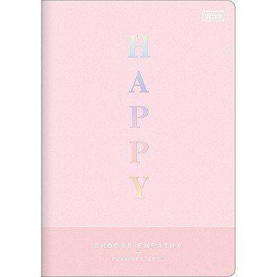 Planner Mensal Brochura Flexível Happy 2022