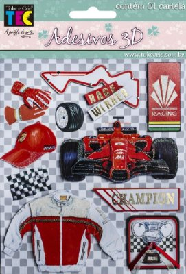 Adesivo 3D- Formula 1