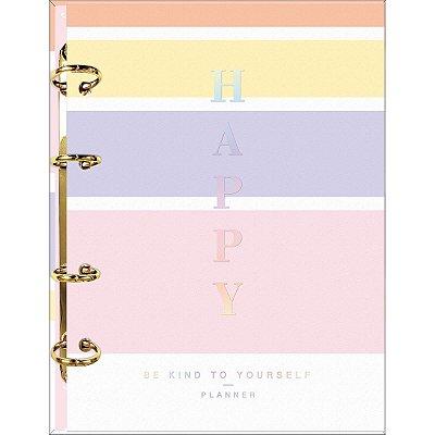 Caderno Argolado Planner Happy