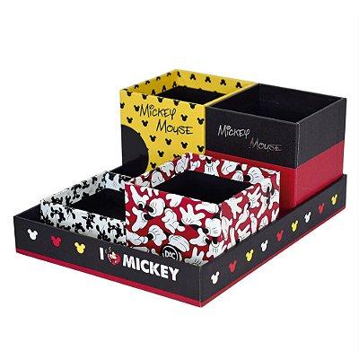 Organizador de Mesa 5 Peças Mickey Mouse