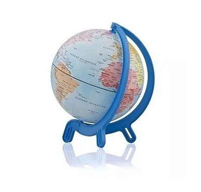 Globo Terrestre Azul 16cm